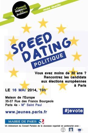 Ce soir, speed dating politique avec les candidats aux européennes àParis