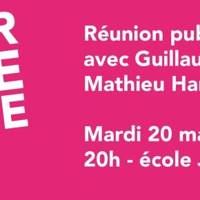 Mardi 20 mai, retrouvez moi à St-Denis pour une réunion publique sur les Européennes avec MathieuHanotin