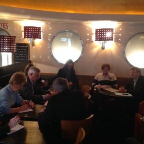 Rencontre avec l'Association des Journalistes de l'Environnement