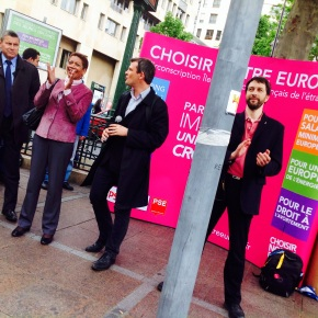 Ultime stand-up parisien, chaque voix compte pour changerl'Europe