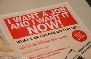 La lutte contre le chômage des jeunes passe par un renforcement rapide de la «garantie jeunesse»