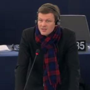 Intervention en plénière «c'est d'un gouvernement économique de la zone euro dont les économies européennes ont besoin»