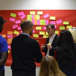 Débat sur l'Europe avec l'association «YMCIA, Initiative pour l'emploi«