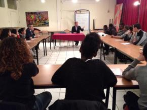 Parler et débattre avec les collégiens franciliens : une forte demande et unenécessité