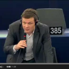 Mon intervention au Parlement européen pour défendre le droit degrève
