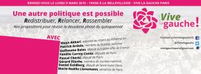 Réunion Vive La Gauche Paris, 19h à laBellevilloise