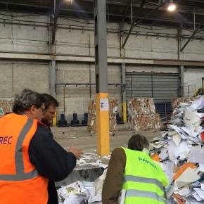 Visite des usines Paprec : l'enjeu de l'économie circulaire