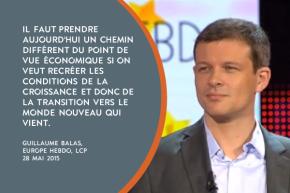 Guillaume Balas sur LCP «Il faut un destin politique pour l'Union européenne»