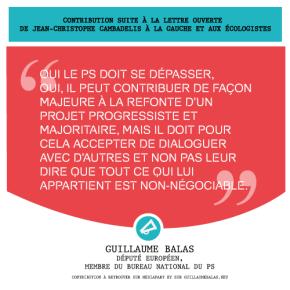 Oui le PS doit se dépasser mais il doit pour cela accepter de dialoguer • Ma réaction suite à la lettre ouverte de J-C Cambadélis à la gauche et auxécologistes