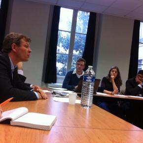 Rencontre avec le groupe de travail Environnement du Parlement Européen desJeunes
